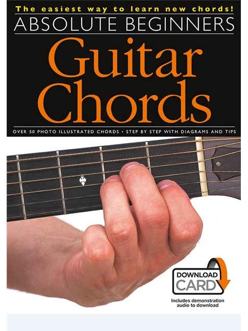 Absolute Beginners: Guitar Chords (Book/Download Card) - Guitar ...