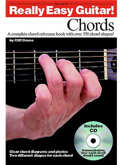 Really Easy Guitar! Chords CD et Livre | Guitare