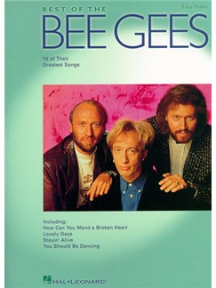 Best Of The Bee Gees Easy Piano Books | Piano