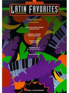Latin Favourites Big-Note Piano Books | Piano