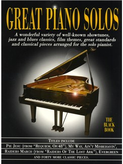 Great Piano Solos - The Black Book Livre | Piano