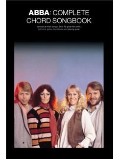ABBA: Complete Chord Songbook Livre | Paroles et Accords (Boîtes d'Accord)