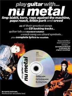 Play Guitar With... Nu Metal Books and CDs | Guitar Tab, with chord symbols