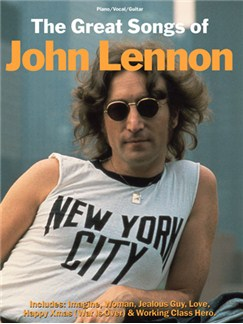 The Great Songs Of John Lennon Books | Piano and Voice, with Guitar chord boxes