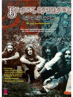 Black Sabbath: Riff By Riff Books | Guitar Tab