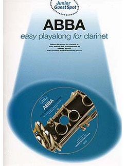 Junior Guest Spot: Abba - Easy Playalong (Clarinet) Books and CDs | Clarinet