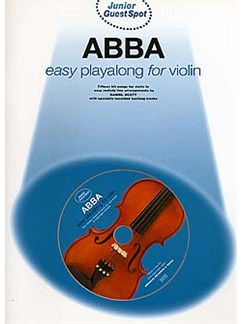 Junior Guest Spot: Abba - Easy Playalong (Violin) Books and CDs | Violin