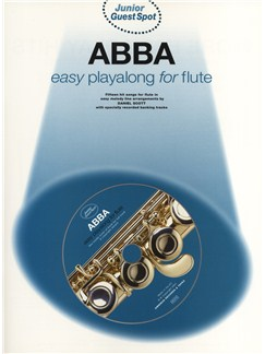 Junior Guest Spot: Abba - Easy Playalong (Flute) Books and CDs | Flute