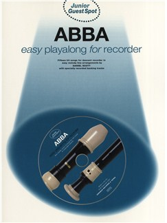 Junior Guest Spot: Abba - Easy Playalong (Recorder) Books and CDs | Soprano (Descant) Recorder