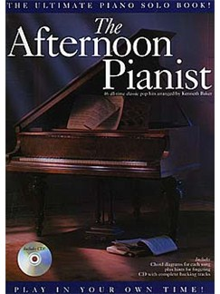 The Afternoon Pianist CD et Livre | Piano, Chant et Guitare (Symboles d'Accords)