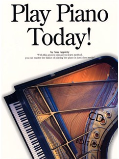 Play Piano Today! Books and CDs | Piano