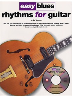 Easy Blues Rhythms For Guitar Books and CDs | Guitar Tab, with chord symbols
