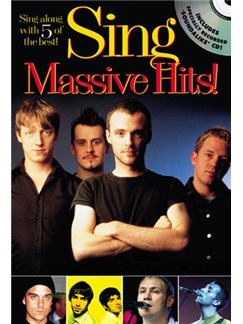 Sing Massive Hits! Books and CDs | Melody line with lyrics and chord symbols and boxes