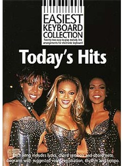 Easiest Keyboard Collection: Today's Hits Books | Melody line with lyrics and chord symbols