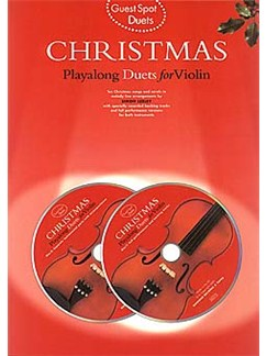 Guest Spot: Christmas Playalong Duets For Violin Books and CDs   Violin Duet