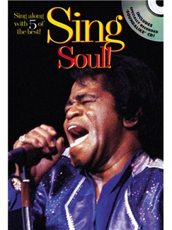 Sing Soul! Books and CDs | Melody line with lyrics and chord symbols