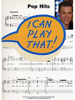 I Can Play That! Pop Hits Books | Piano, Lyrics & Chords
