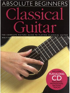 Absolute Beginners: Classical Guitar Books and CDs | Guitar, Classical Guitar