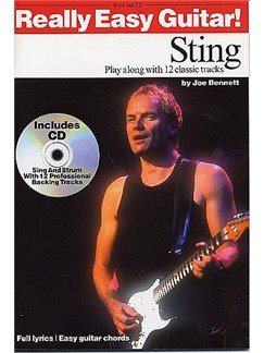 Really Easy Guitar! Sting Books and CDs | Guitar