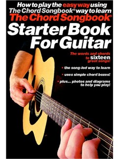 The Chord Songbook Starter Book For Guitar Books | Guitar