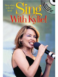 Sing With Kylie! Books and CDs | Melody line with lyrics and chord symbols