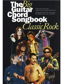 The Big Guitar Chord Songbook: Classic Rock Livre | Paroles et Accords (Boîtes d'Accord)