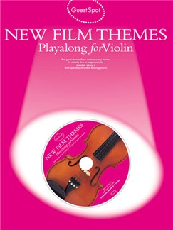 Guest Spot: New Film Themes Playalong For Violin Books and CDs | Violin