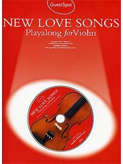 Guest Spot: New Love Songs Playalong For Violin (Book/CD) Books and CDs | Violin