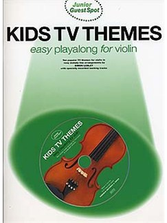 Junior Guest Spot: Kids TV Themes - Easy Playalong (Violin) Books and CDs | Violin