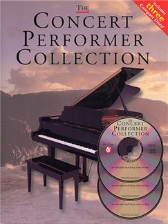 The Concert Performer Collection Books and CDs | Piano