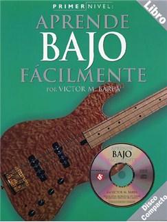Primer Nivel: Aprende Bajo Facilmente Books and CDs | Bass Guitar