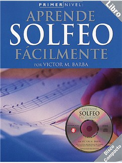 Primer Nivel: Aprende Solfeo Facilmente Books and CDs |
