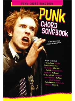 Punk Chord Songbook Books | Lyrics, And Chord Boxes