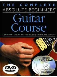 The Complete Absolute Beginners Guitar Course: Book/CD/DVD Pack Books, CDs and DVDs / Videos | Guitar