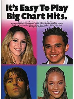 It's Easy To Play Big Chart Hits Books | Piano and vocal with guitar chord symbols