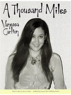 Vanessa Carlton: A Thousand Miles Books | Piano and Voice, with Guitar chord boxes