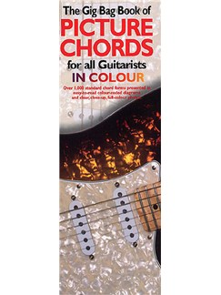 Gig Bag Book Of Guitar Picture Chords In Colour Books | Guitar