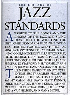 The Library Of Jazz Standards Books | Piano, Voice and Guitar with symbols and boxes