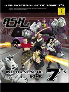 Ash: Intergalactic Sonic 7's (The Best Of Ash) Books | Guitar Tab, with chord boxes