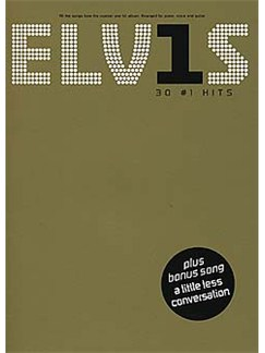 Elvis: 30 Number 1 Hits (PVG) Livre | Piano, Chant et Guitare (Boîtes d'Accord)