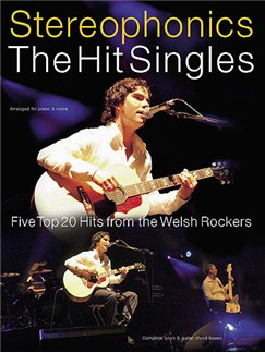 Stereophonics: The Hit Singles Books | Piano, Voice & Guitar with Chord Boxesz