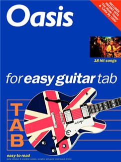 Oasis For Easy Guitar Tab (Revised Edition) Livre | Tablature Guitare (Boîtes d'Accord)
