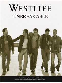 Westlife: Unbreakable Books | Piano and Voice, with Guitar chord boxes