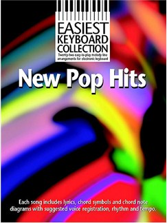 Easiest Keyboard Collection: New Pop Hits Books | Keyboard