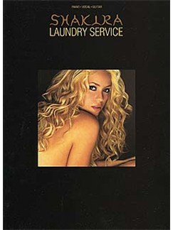 Shakira: Laundry Service Books | Piano and Voice, with Guitar chord boxes