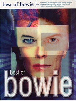 Best Of Bowie Books | Piano, Voice, and Guitar Chord Boxes