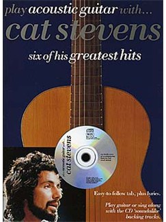 Play Acoustic Guitar With... Cat Stevens Books and CDs | Guitar Tab, with chord symbols