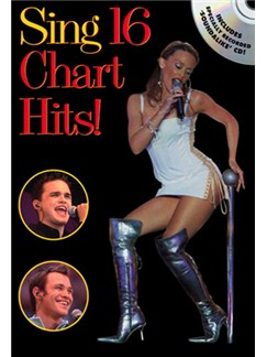 Sing 16 Chart Hits! Books and CDs | Melody line, Lyrics and Chords