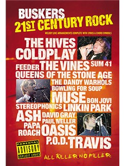 21st Century Rock: Buskers Books | Melody, Lyrics and Chords