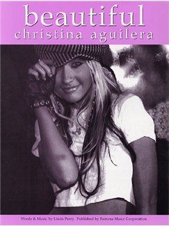 Christina Aguilera: Beautiful Books | Piano, Vocal & Guitar (with Chord Boxes)